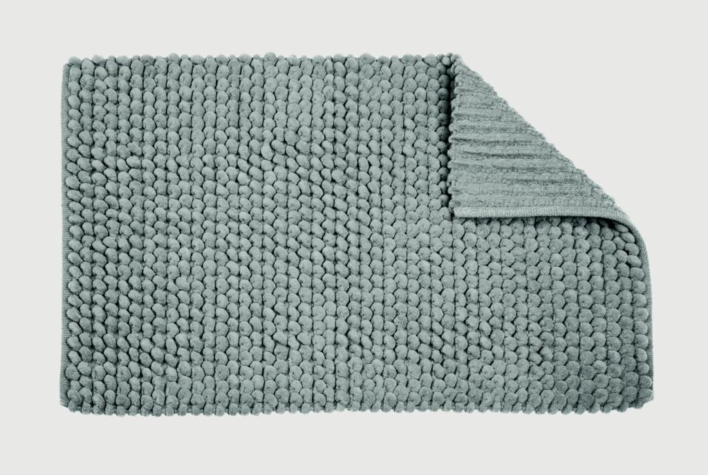 Croydex Grey Soft Cushioned Bathroom Mat - Textile Bath Mats/Grey