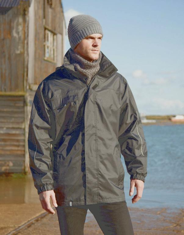 Prestige Result 3 In 1 Jacket & Softshell Inner Black - S