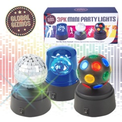 Global Gizmos Mini Party Light Set