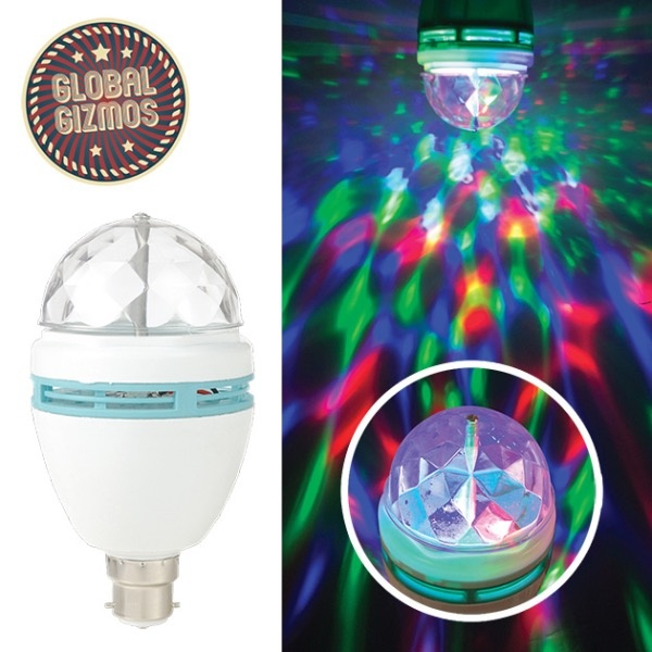 Global Gizmos Disco Light Bulb - 1.5w