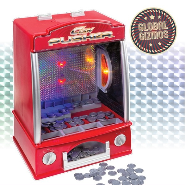 Global Gizmos Fairground Coin Pusher