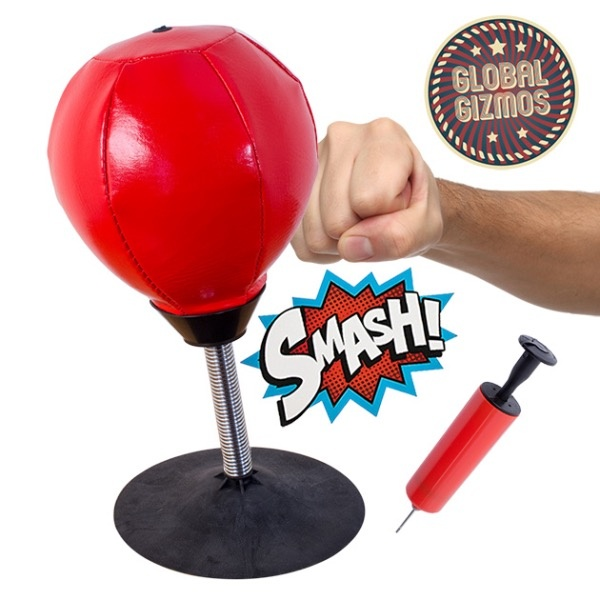 Global Gizmos Desktop Punching Bag