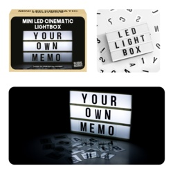 Global Gizmos A6 LED Lightbox