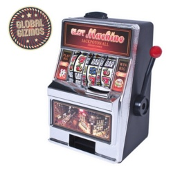 Global Gizmos Slot Machine Money Box