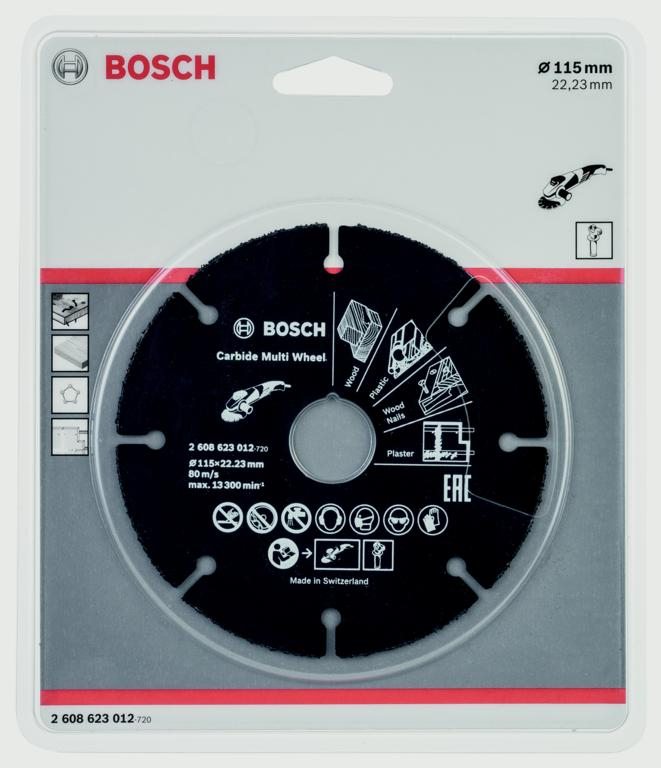 Bosch Carbide Multi Wheel - 115mm