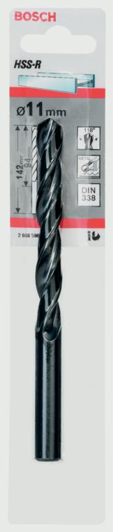 Bosch HSS Twist Point TEQ Drill Bit - 11mm