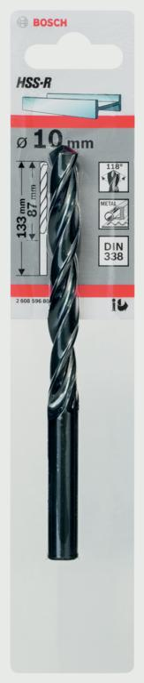 Bosch HSS Twist Point TEQ Drill Bit - 10mm