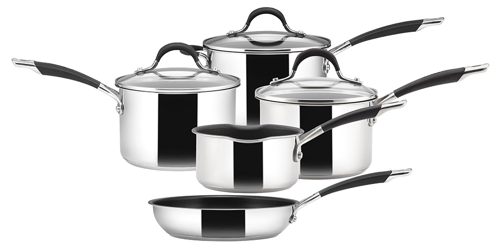 Circulon Momentum Stainless Steel Pan Set - 5 Piece