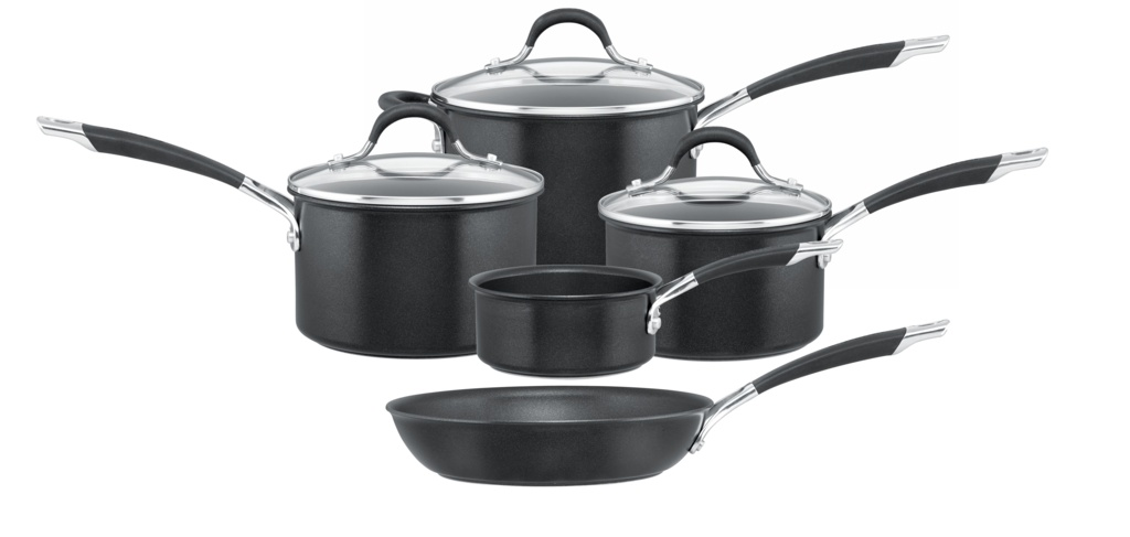 Circulon Momentum Hard Anodized Pan Set - 5 Piece