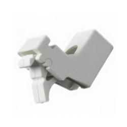 Harrison Drape Standard Drape Brackets - White Pack 5