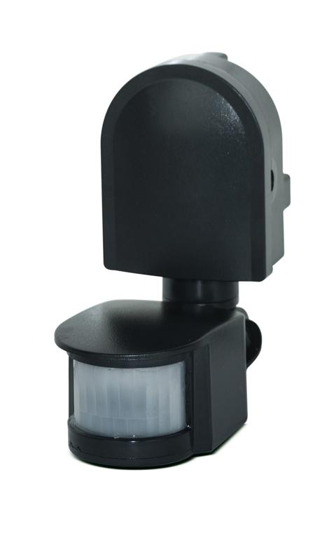 Luceco IP44 PIR Sensor - Black