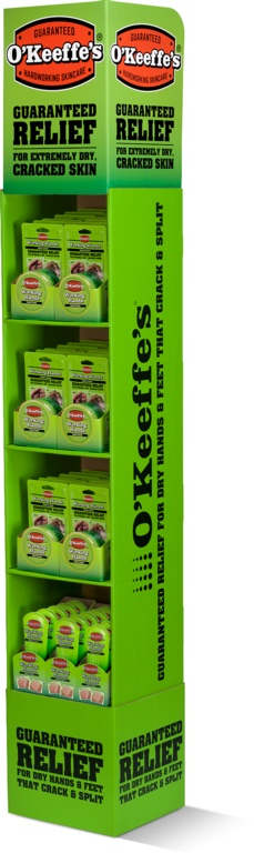 O'Keeffe's 36 x Hands Jar 96g, 15 x Hands Tube 85g - Display Unit
