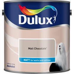Dulux Standard Matt 2.5L Malt Chocolate