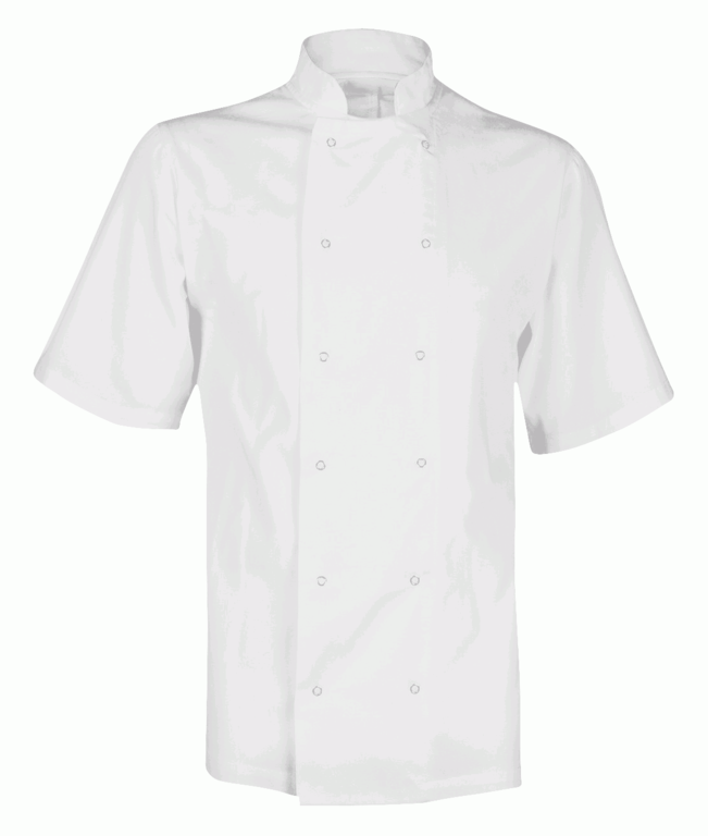 Orbit Fusion Unisex Chefs Jacket White - Medium