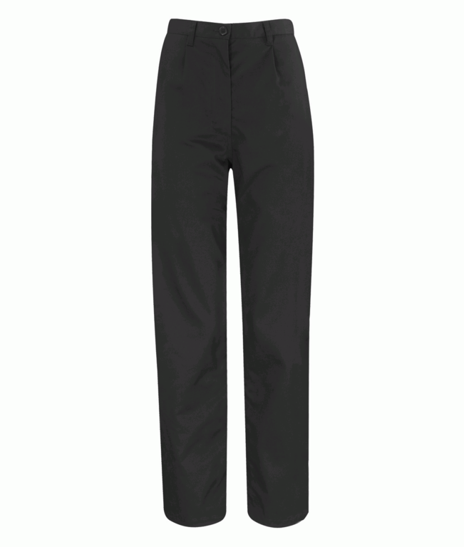 Orbit Ladies Trouser Black Regular - Size  8