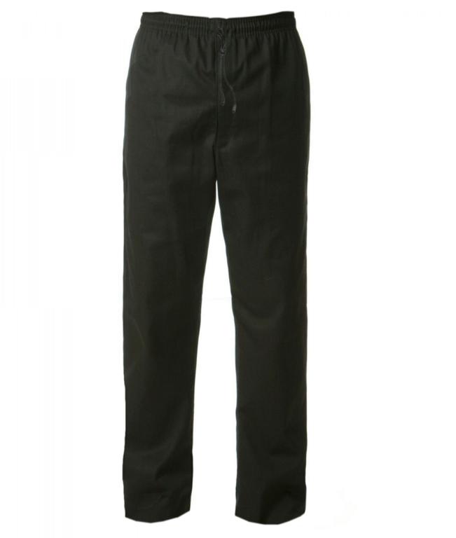 Orbit Fusion Unisex Chefs Trousers Black - Large