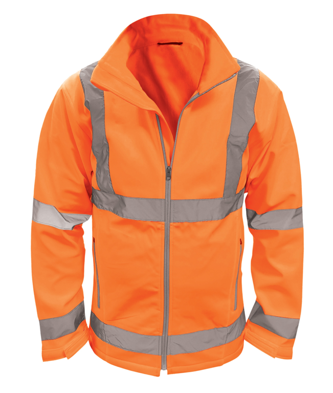 Orbit Marquis Soft Shell Jacket Orange - Large