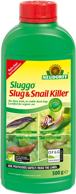 Sluggo Slug & Snail Killer - 500g Bottle