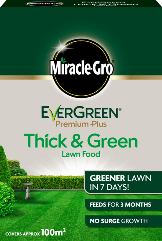 Miracle-Gro Evergreen Premium Plus Thick & Green - 100m2