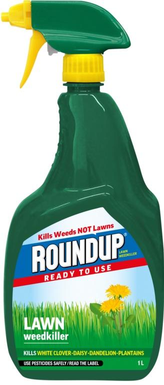 Roundup Lawn RTU - 1L