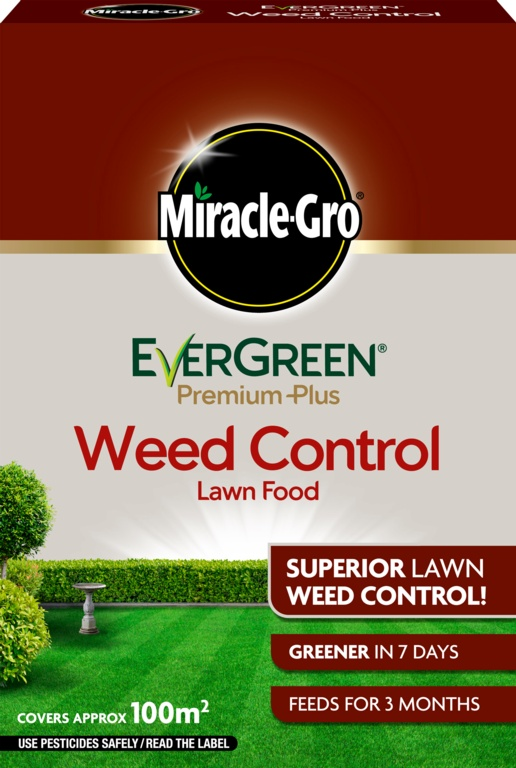 Miracle-Gro Evergreen Premium Plus Weed Control - 100m2