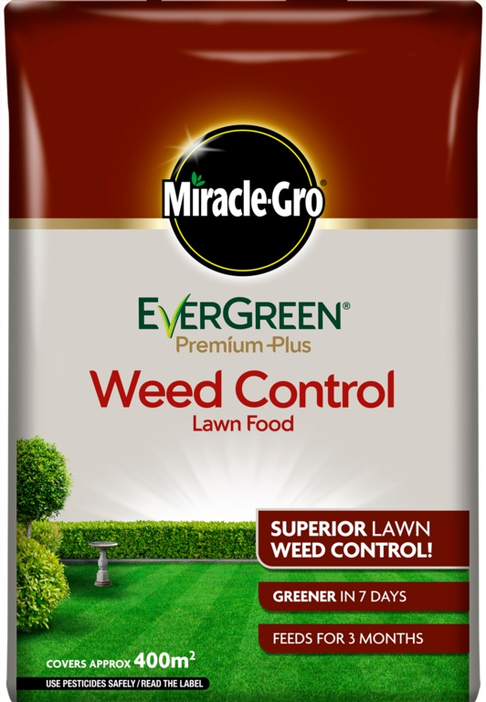 Miracle-Gro Evergreen Premium Plus Weed Control - 400m2