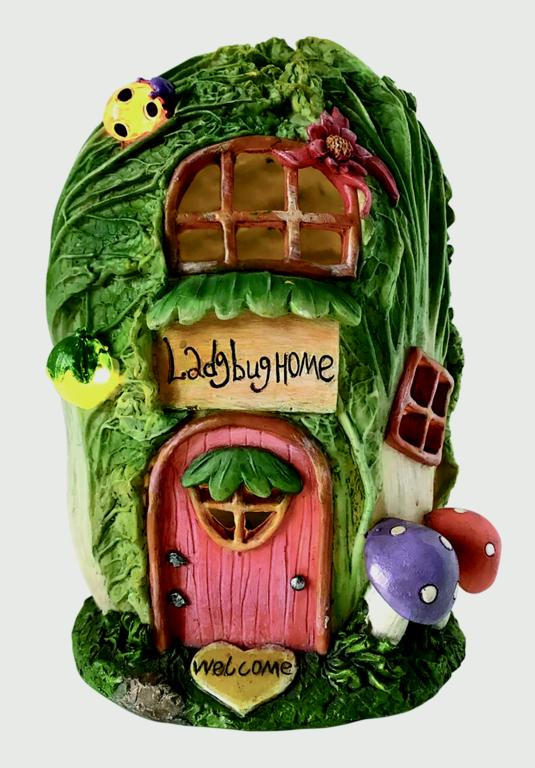 Kent Collection Solar Cabbage House - 12 x 12 x 17cm