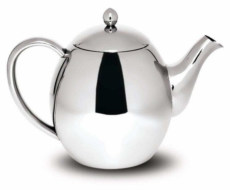 Sabichi Double Wall Stainless Steel Teapot - 1200ml