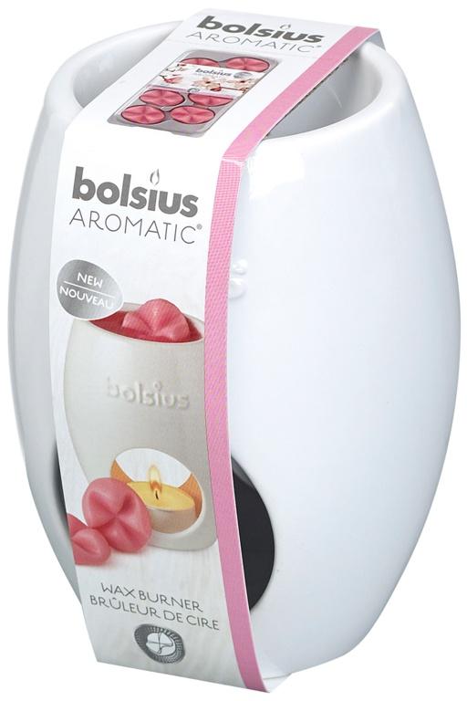 Bolsius White Wax Burner - Ellips