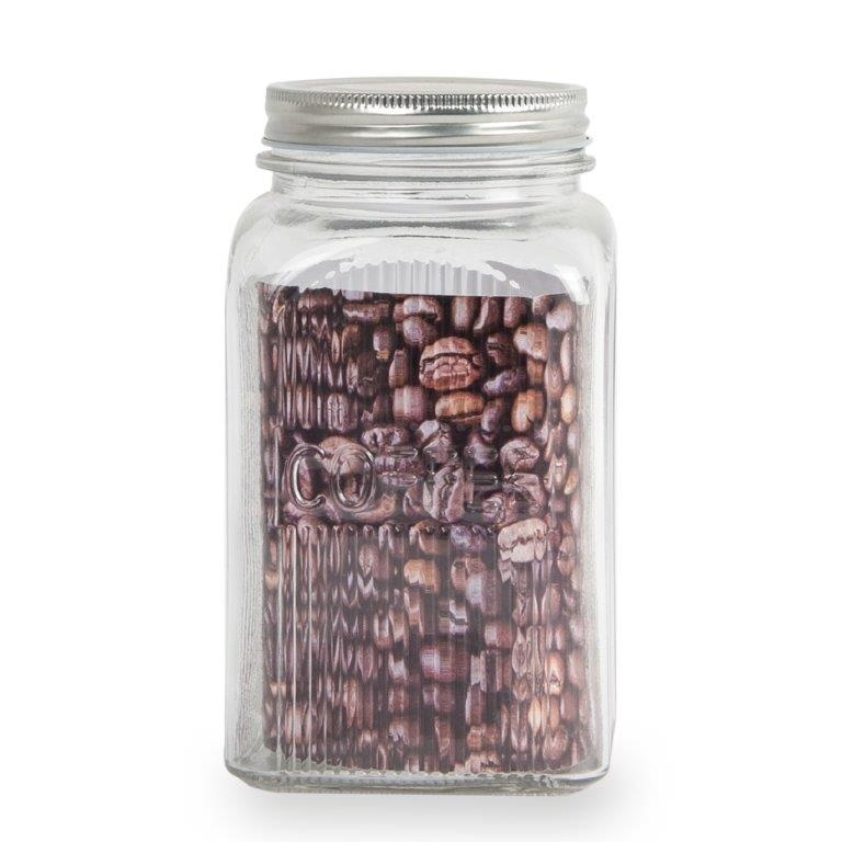 Sabichi Ribbed Coffee Canister - 1200ml