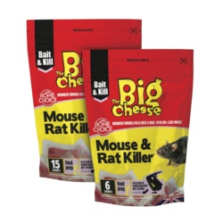 The Big Cheese Rat and Mouse Killer Pack 6