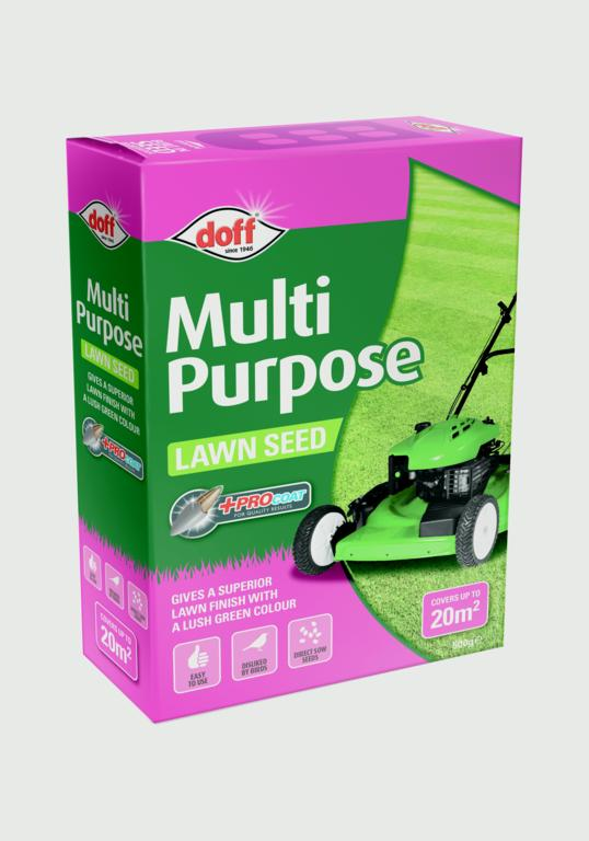 Doff Multi Purpose Lawn Seed With Procoat - 500g