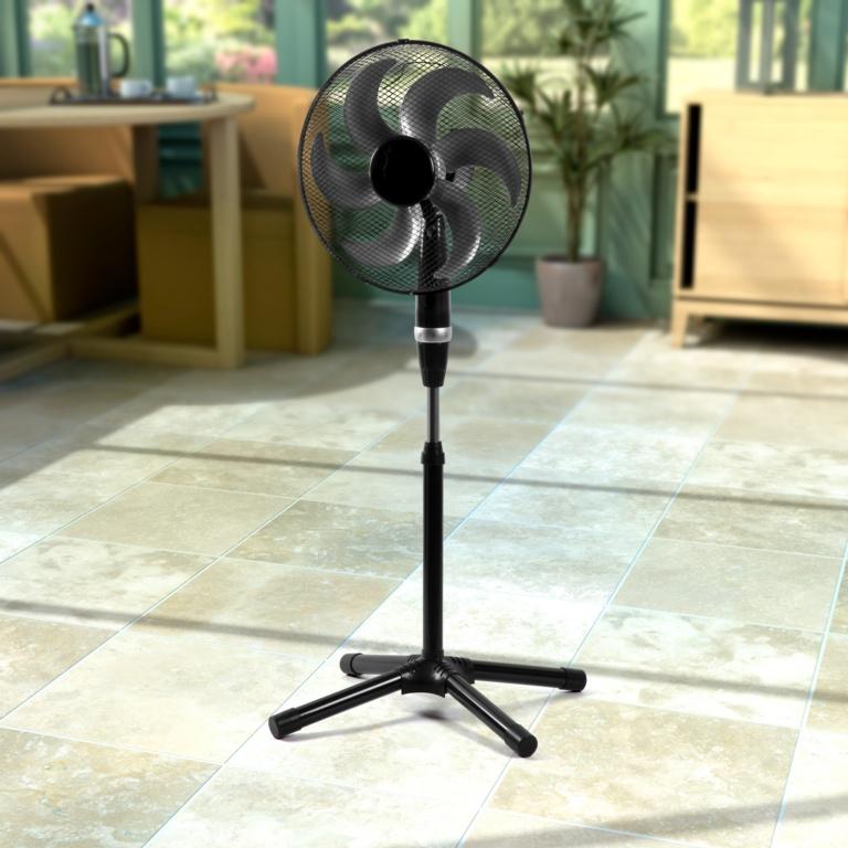"""SupaCool Deluxe Pedestal Fan - 16"""""""