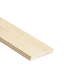 Cheshire Mouldings PEFC Knotty PSE Timber - 2.4m x 145 x 20