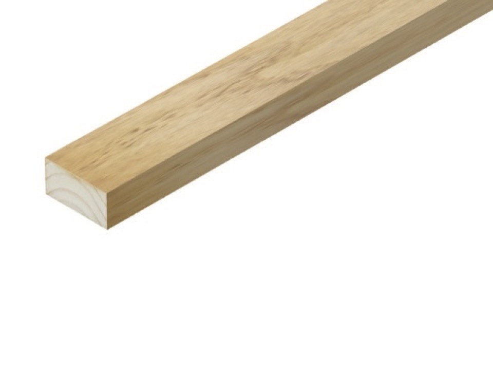 Cheshire Mouldings Sawn Treated Timber - 2.4m x 25 x 50