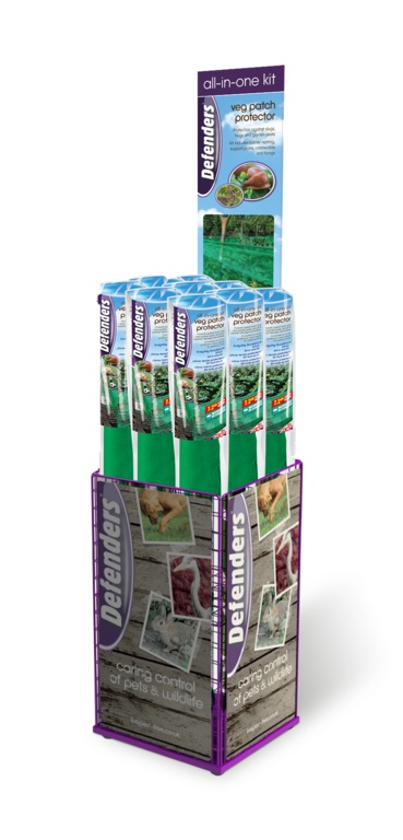 Defenders All In One Kit Veg Patch Protector - Display Unit 20