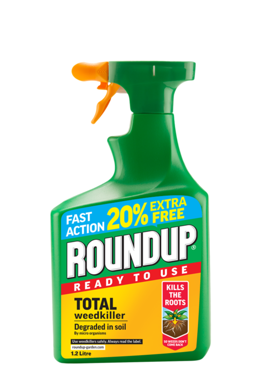 Roundup Total RTU - 1L Plus 20% Extra Free