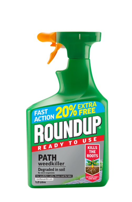 Roundup Path RTU - 1L Plus 20% Extra Free