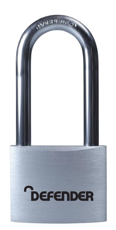 Defender Aluminium Padlock - 40mm