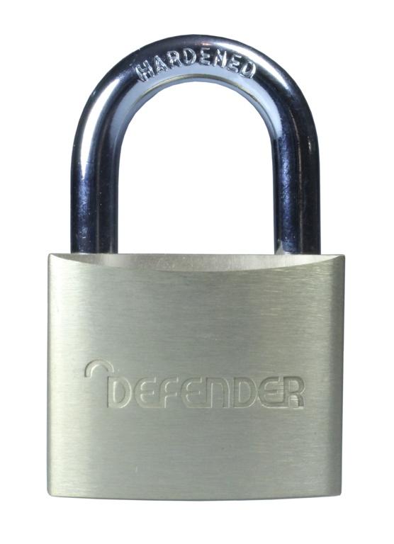 Defender Brass Padlock - 40mm