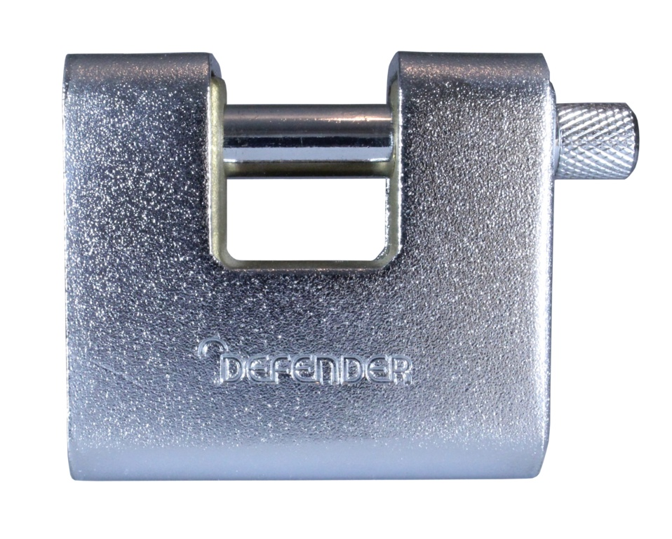 Defender Armoured Warehouse Lock - 60mm