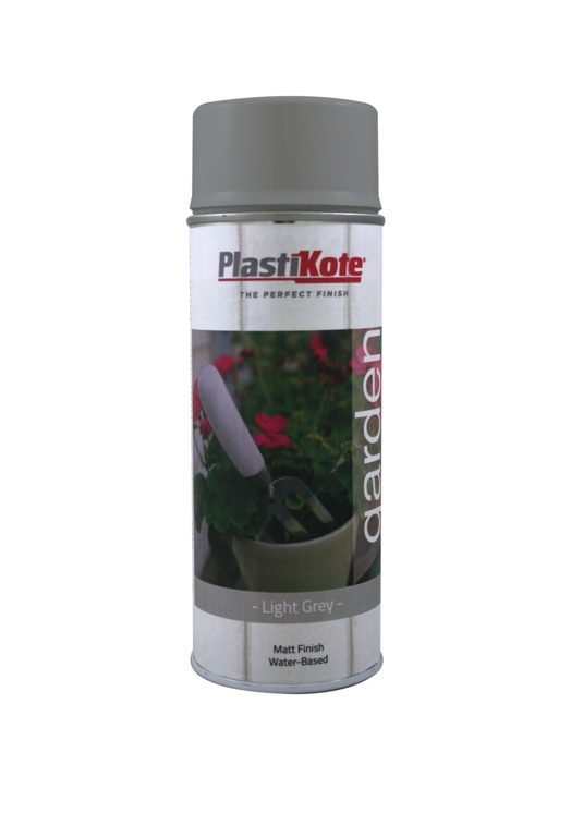 PlastiKote Garden Colour 400ml - Light Grey