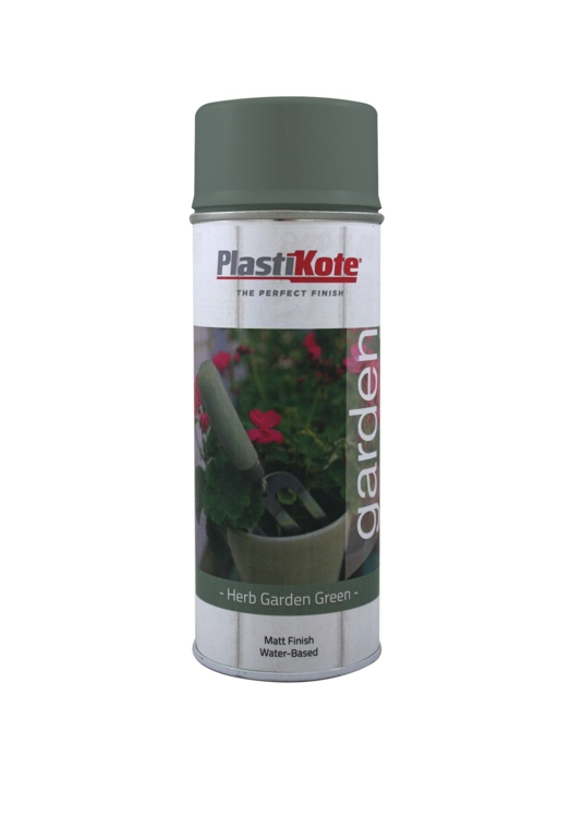PlastiKote Garden Colour 400ml - Herb Garden Green