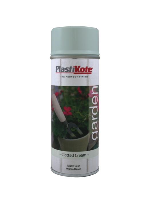 PlastiKote Garden Colour 400ml - Clotted Cream