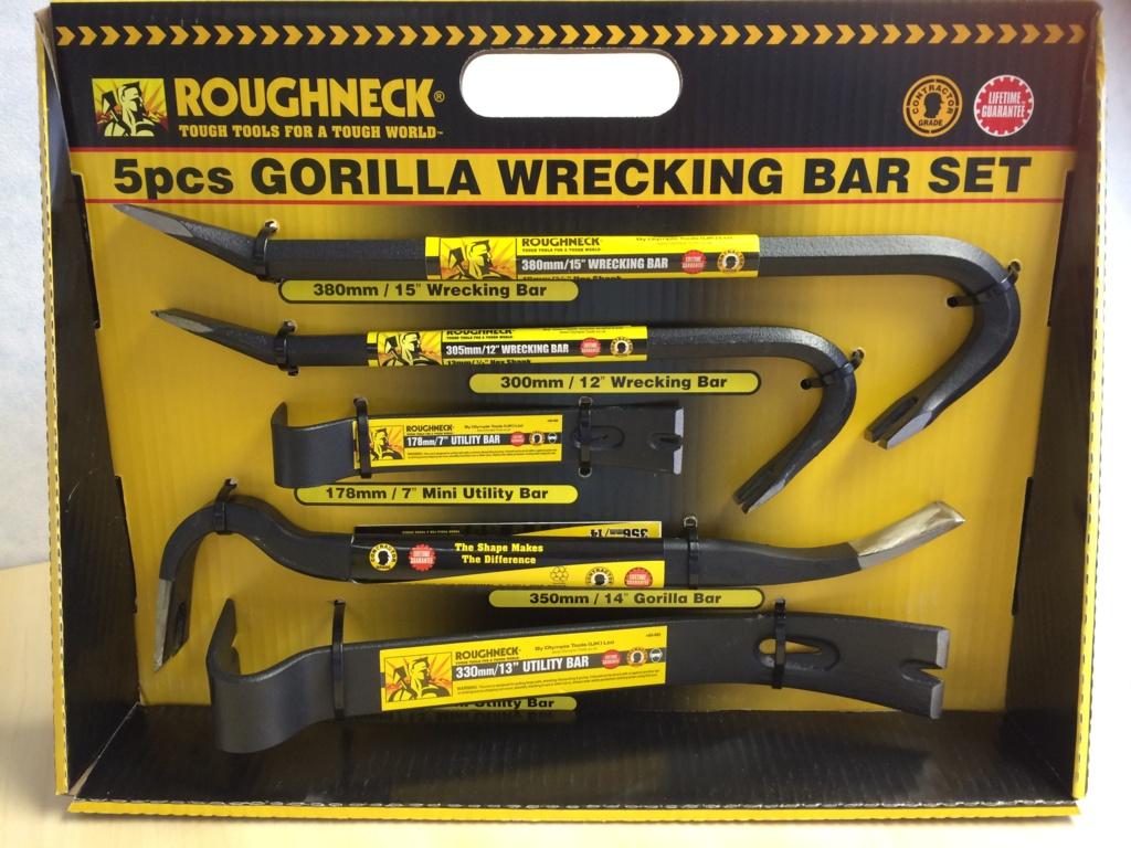 Roughneck Gorilla Bar - 5 Piece