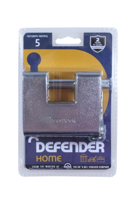 Defender Armoured Warehouse Lock - 80mm