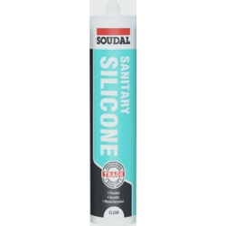 Soudal Sanitary Silicone Clear 290ml