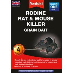 Rentokil Rodine Rat & Mouse Killer Grain Bait
