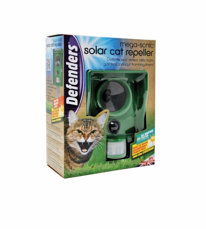 Defenders Mega - Sonic Solar Cat Repeller