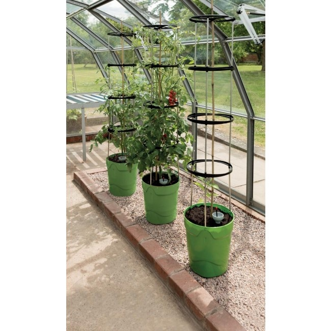 Garland Self Watering Grow Pot Tower - Green